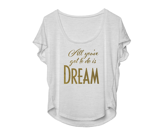 Buy Online Dream Girls West End - All You Got To Do Is Dream Dolman
