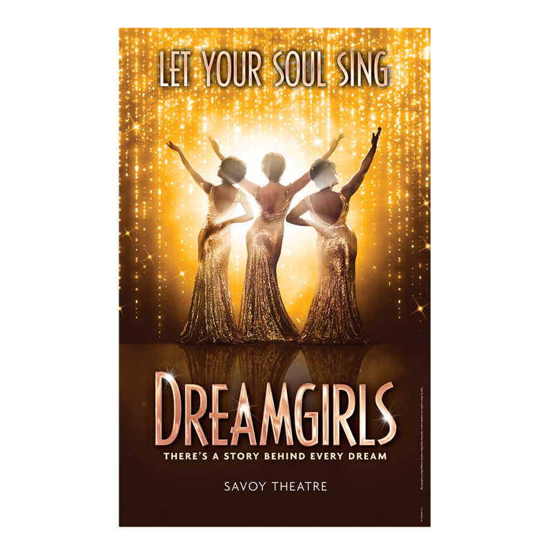 Buy Online Dreamgirls West End - Poster