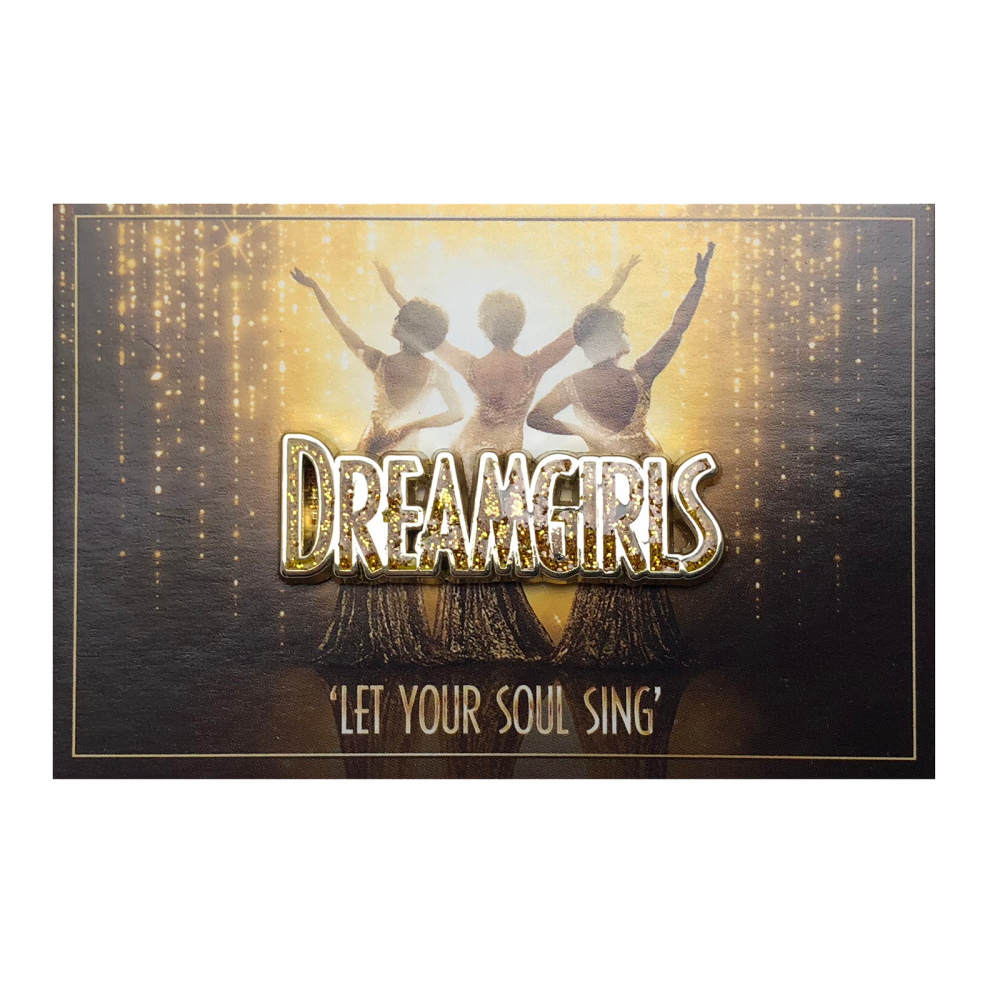 Buy Online Dreamgirls West End - Pin Badge