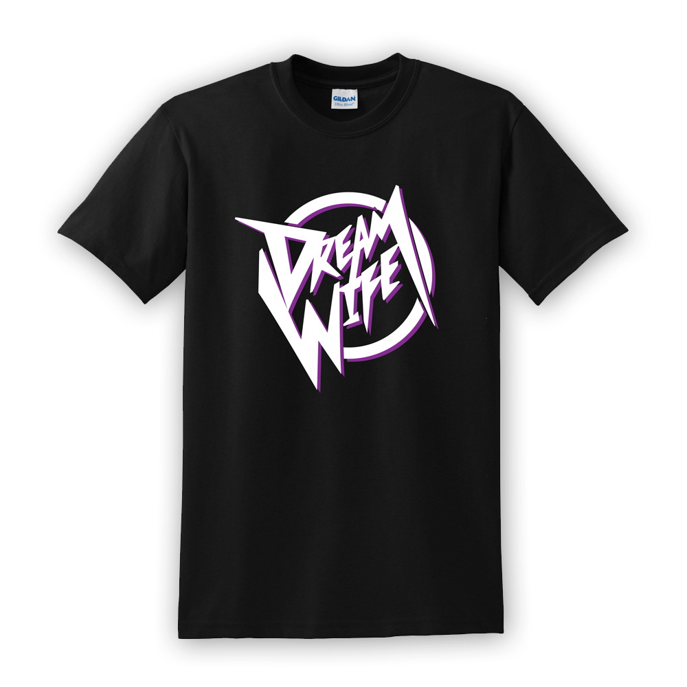 Buy Online Dream Wife - Black Circle Logo Tee