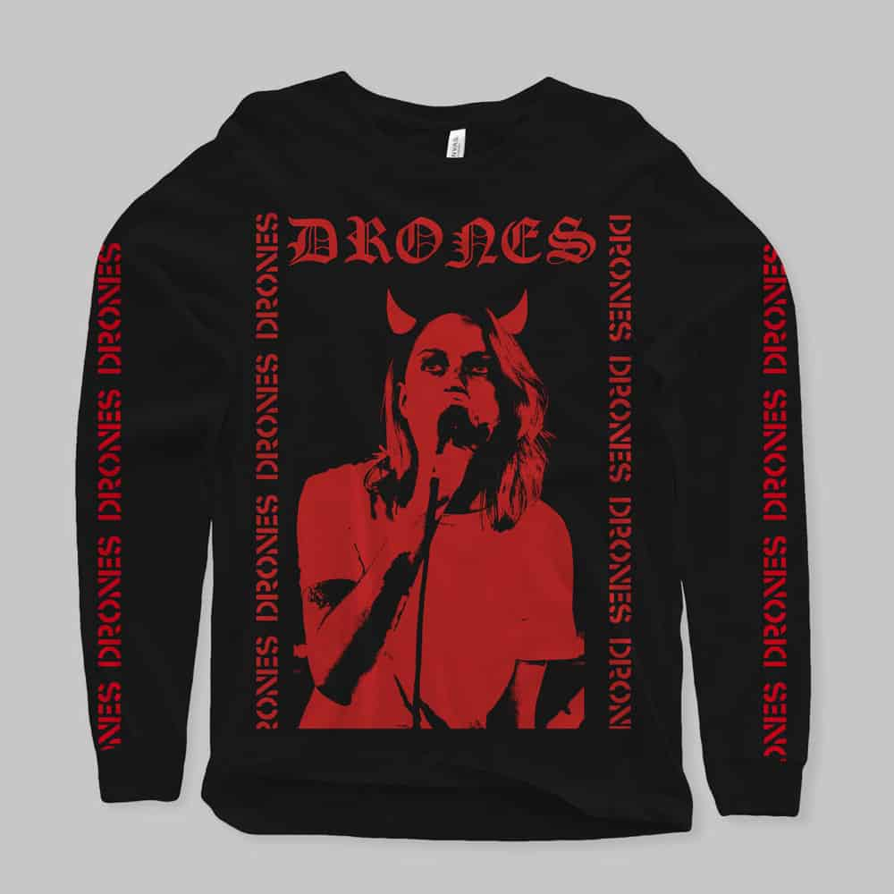 Buy Online Drones - Red Devil Long Sleeve
