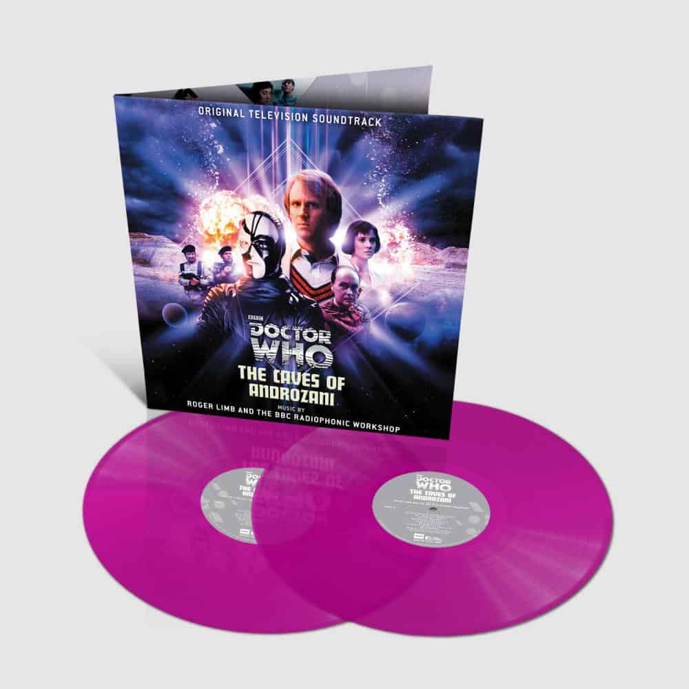 Buy Online Doctor Who Soundtrack - The Caves of Androzani Vinyl DLP