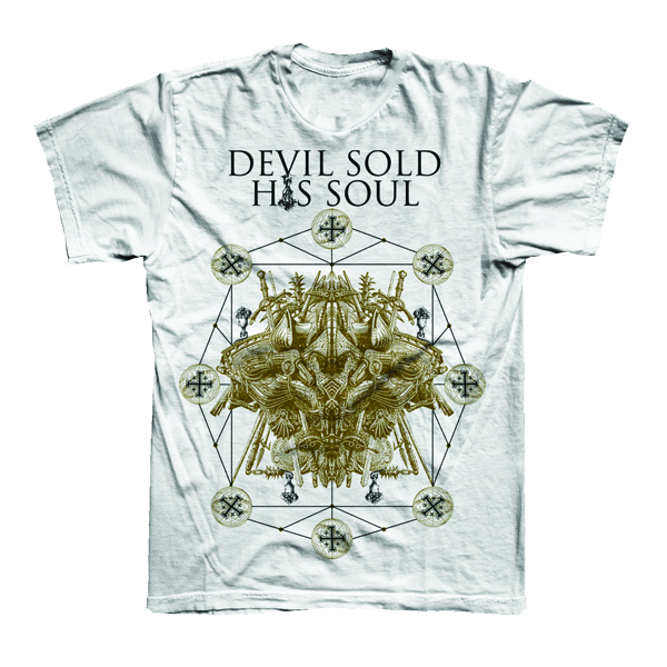 Buy Online Devil Sold His Soul - Crusader T-Shirt