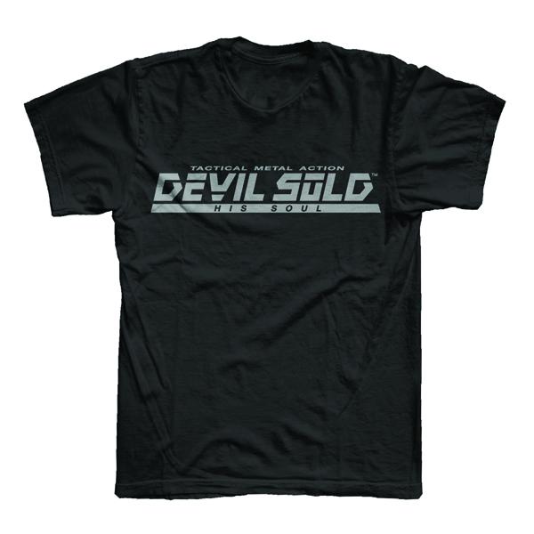 Buy Online Devil Sold His Soul - Metal Gear Black T-Shirt