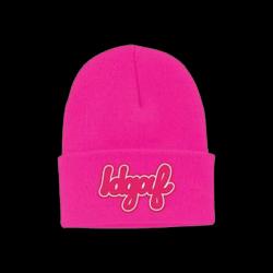 Buy Online Dua Lipa - IDGAF Neon Pink Beanie