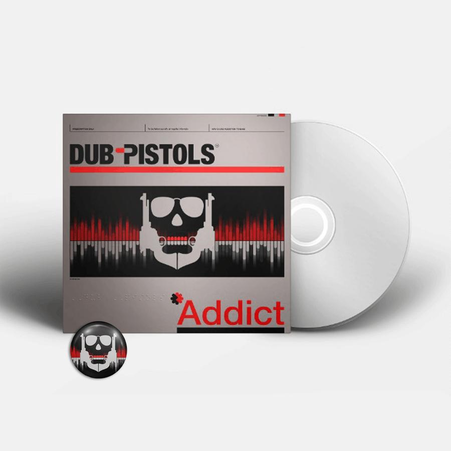 Buy Online Dub Pistols - Addict (Signed) (Inc Badge)
