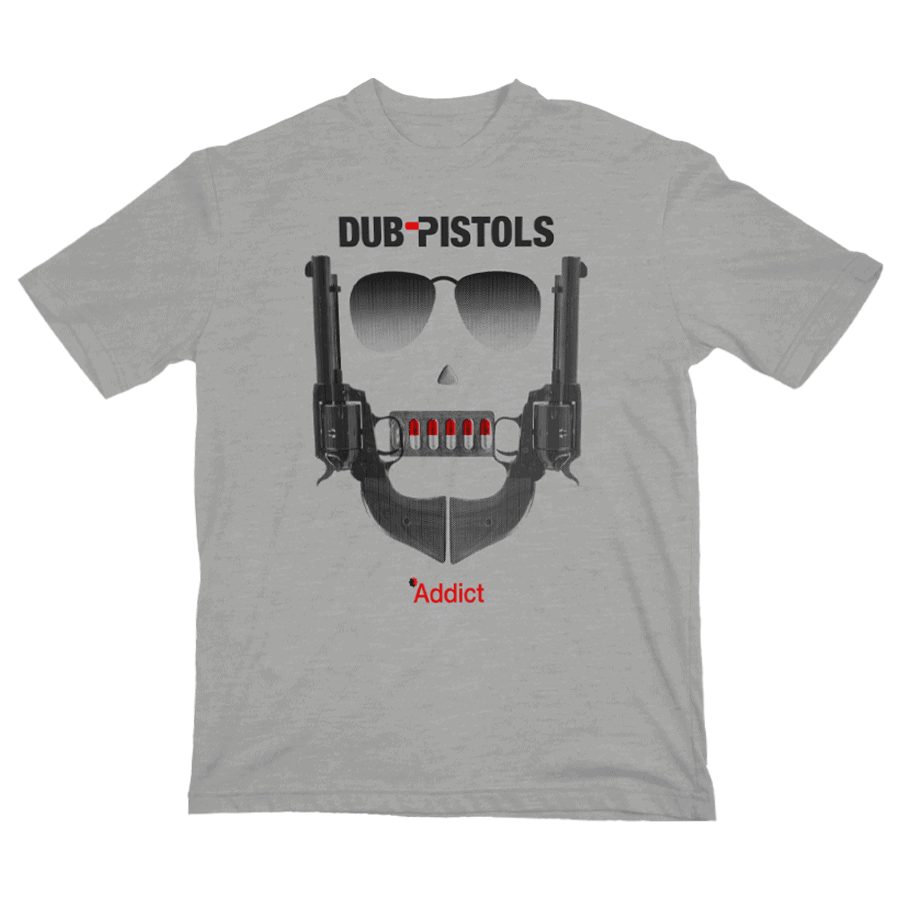Buy Online Dub Pistols - Addict T-Shirt