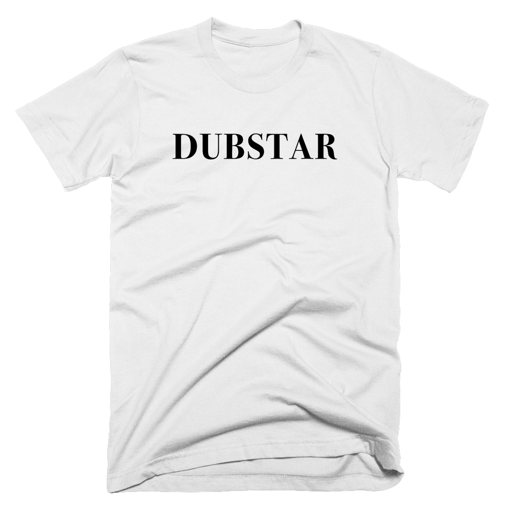 Buy Online Dubstar - White Dubstar T-Shirt