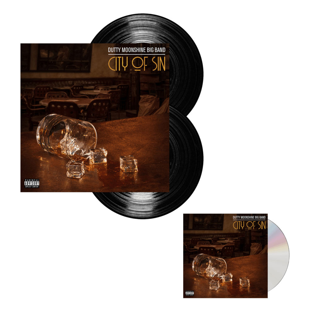 Buy Online Dutty Moonshine - City Of Sin CD + Vinyl