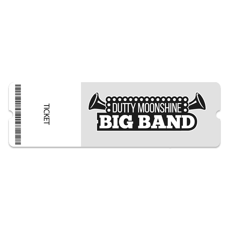 Buy Online Dutty Moonshine - Gig Ticket - Big Band 2020 Tour