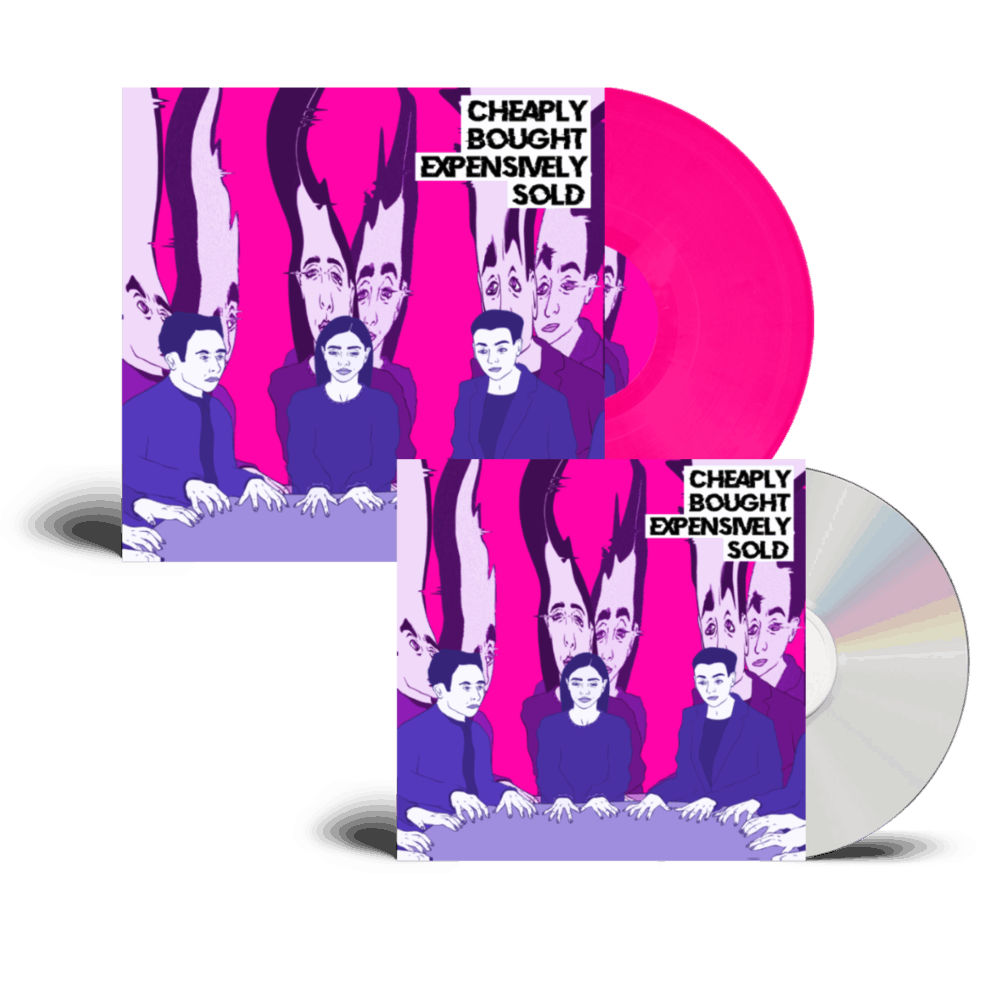 Buy Online Declan Welsh & The Decadent West - Cheaply Bought Expensively Sold Signed CD + Pink Signed Vinyl