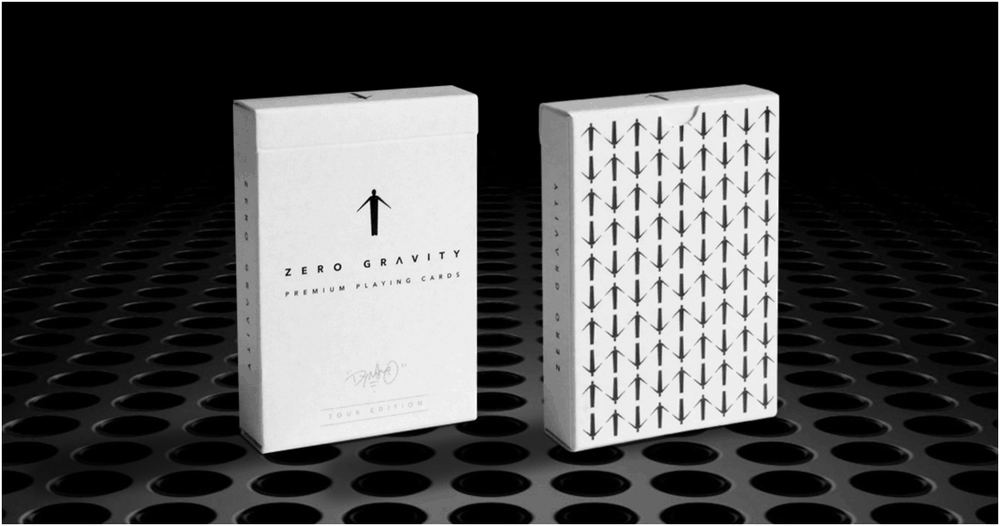 'Zero Gravity 'Tour' Playing Cards