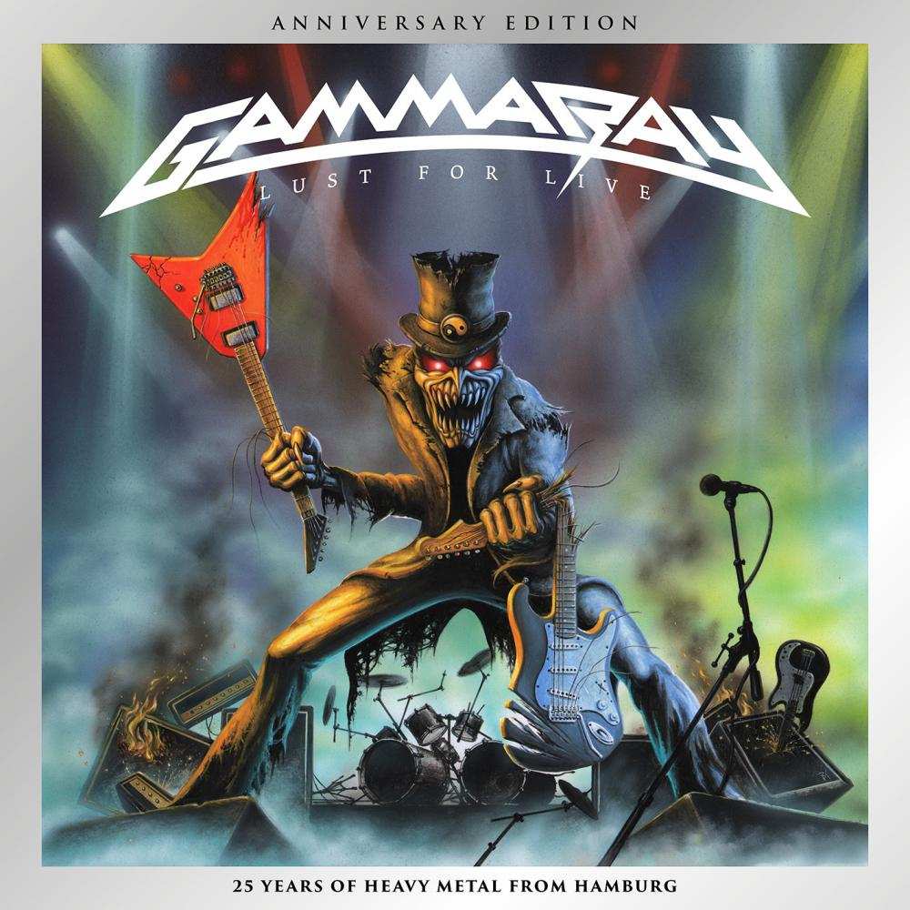 Buy Online Gamma Ray - Lust For Live (Anniversary Edition) (CD Digipak)