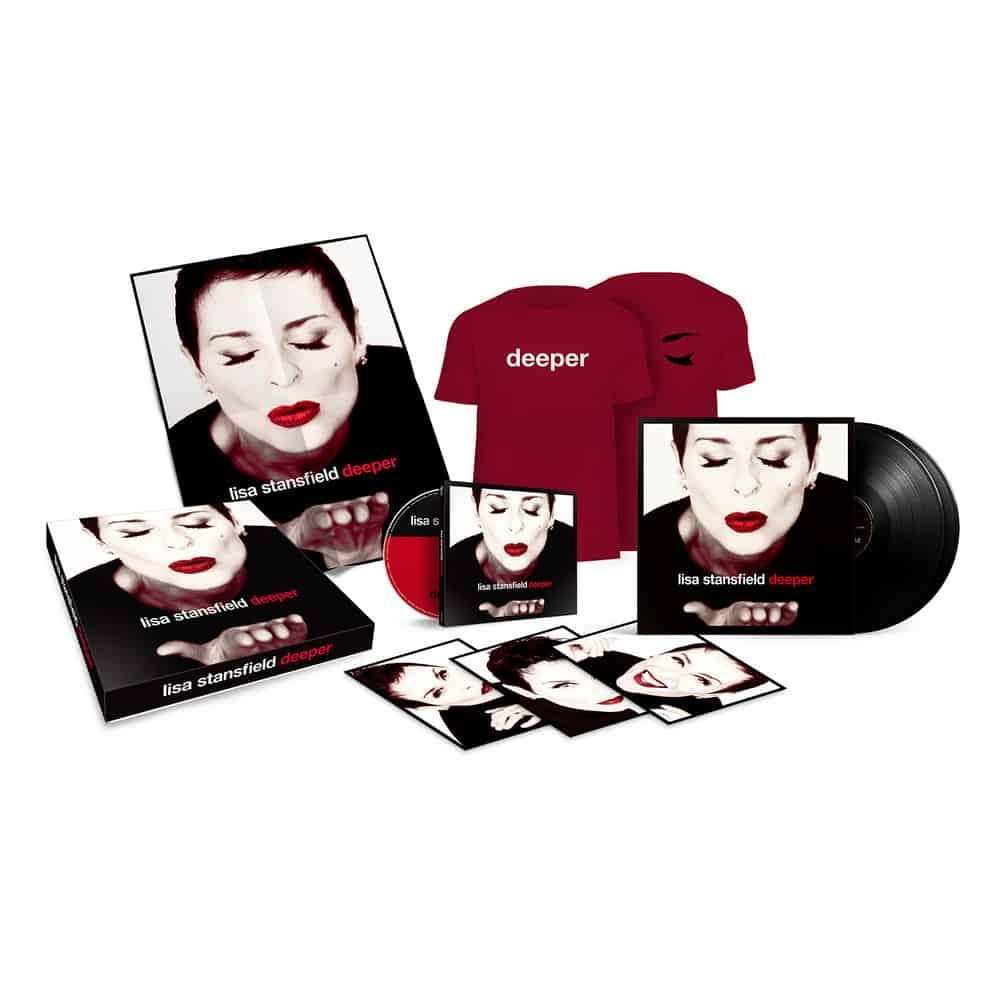 Buy Online Lisa Stansfield - Deeper (Boxset)