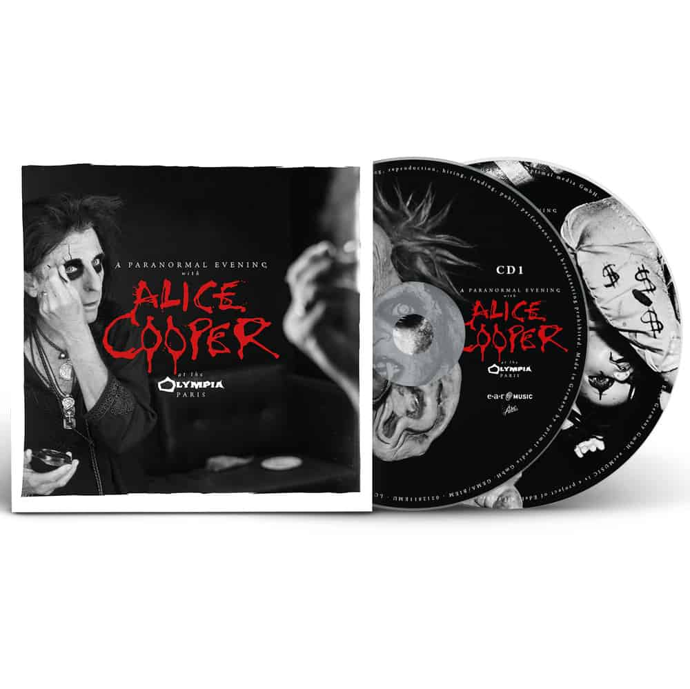 Buy Online Alice Cooper - A Paranormal Evening At The Olympia Paris (CD)