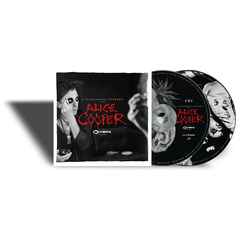 Buy Online Alice Cooper - A Paranormal Evening at the Olympia Paris CD