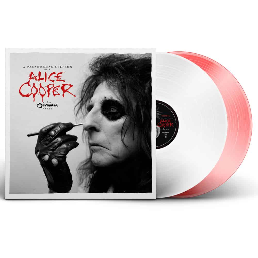 Buy Online Alice Cooper - A Paranormal Evening at the Olympia Paris Coloured Double Vinyl