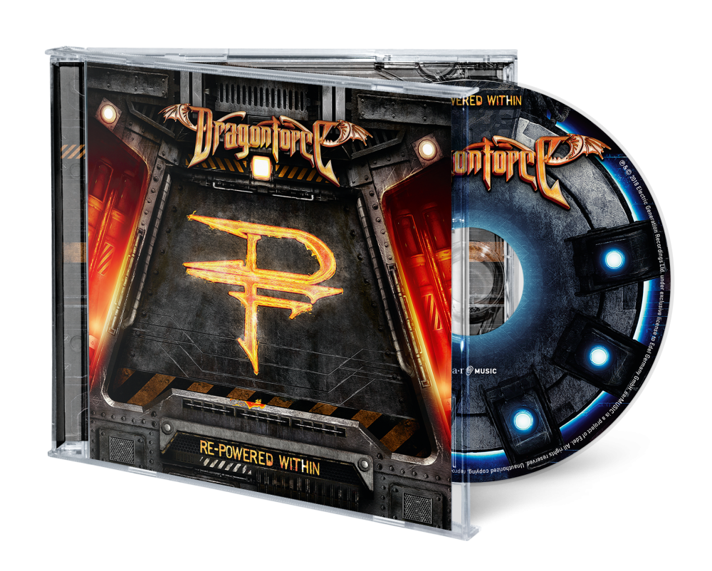 Buy Online Dragonforce - Re-Powered Within CD
