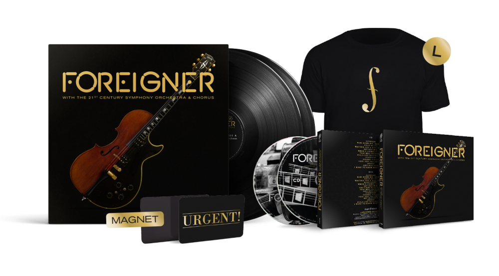 Buy Online Foreigner - With the 21st Century Symphony Orchestra & Chorus Boxset