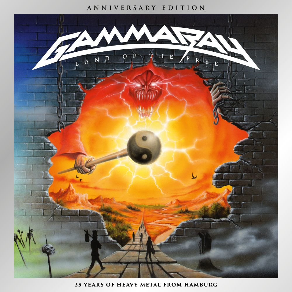 Buy Online Gamma Ray - Land Of The Free (Anniversary Edition)