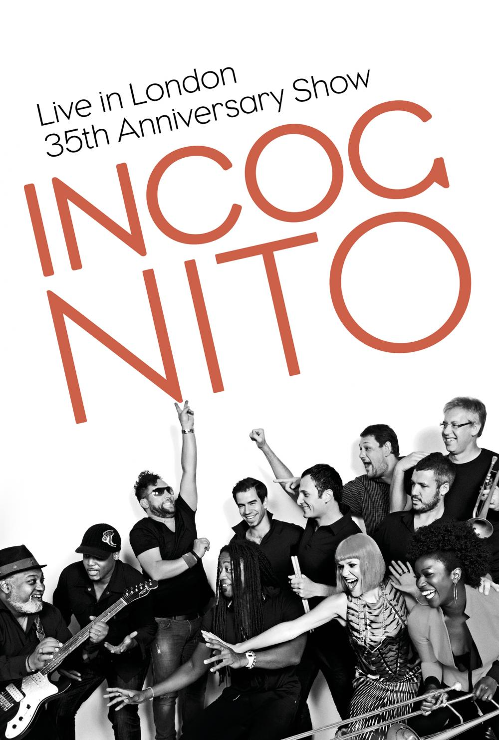 Buy Online Incognito - Live In London - 35th Anniversary Show DVD