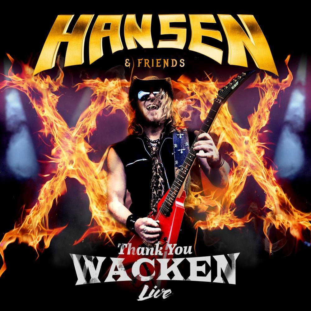 Buy Online Kai Hansen - Thank You Wacken CD + DVD