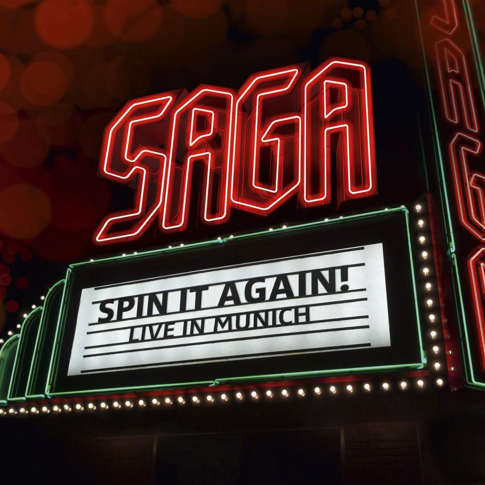Buy Online SAGA - Spin It Again - Live In Munich