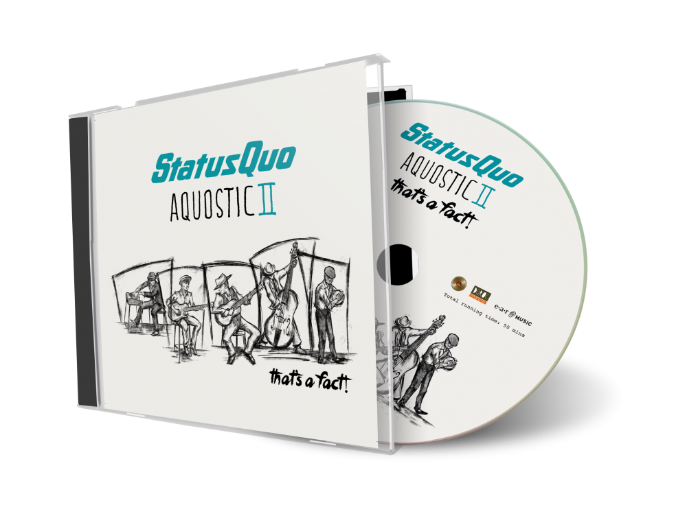Buy Online Status Quo - Aquostic II That's A Fact! CD