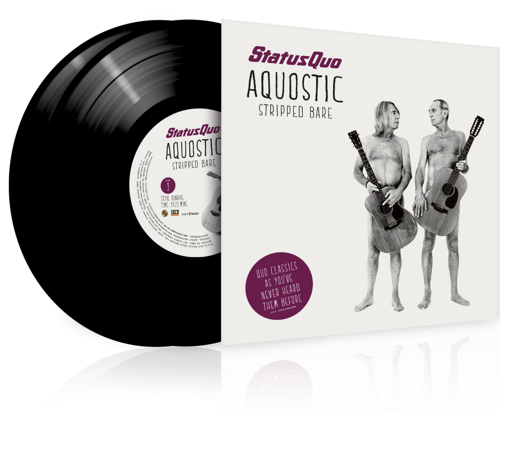 Buy Online Status Quo - Aquostic (Stripped Bare)  12-Inch