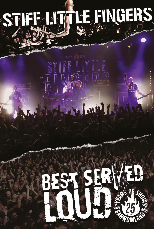 Buy Online Stiff Little Fingers - Best Served Loud (Reissue 2017) DVD