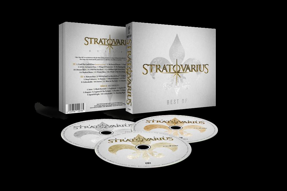 Buy Online Stratovarius - Best Of (Triple CD Digipak)