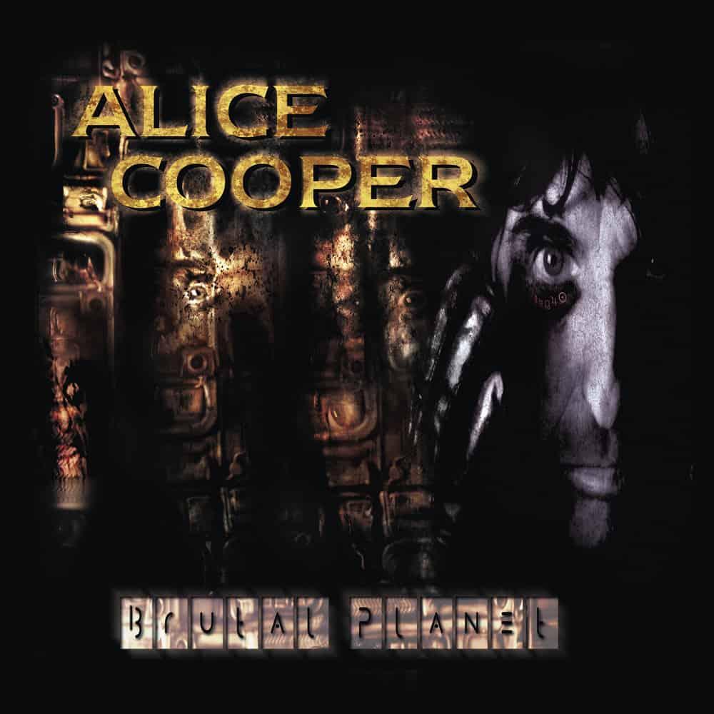 Buy Online Alice Cooper - Brutal Planet Vinyl (Includes CD)