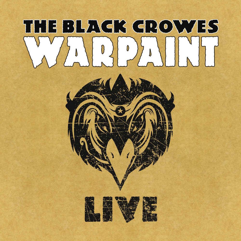 Buy Online Black Crowes - Warpaint - Live Triple Vinyl + Double CD
