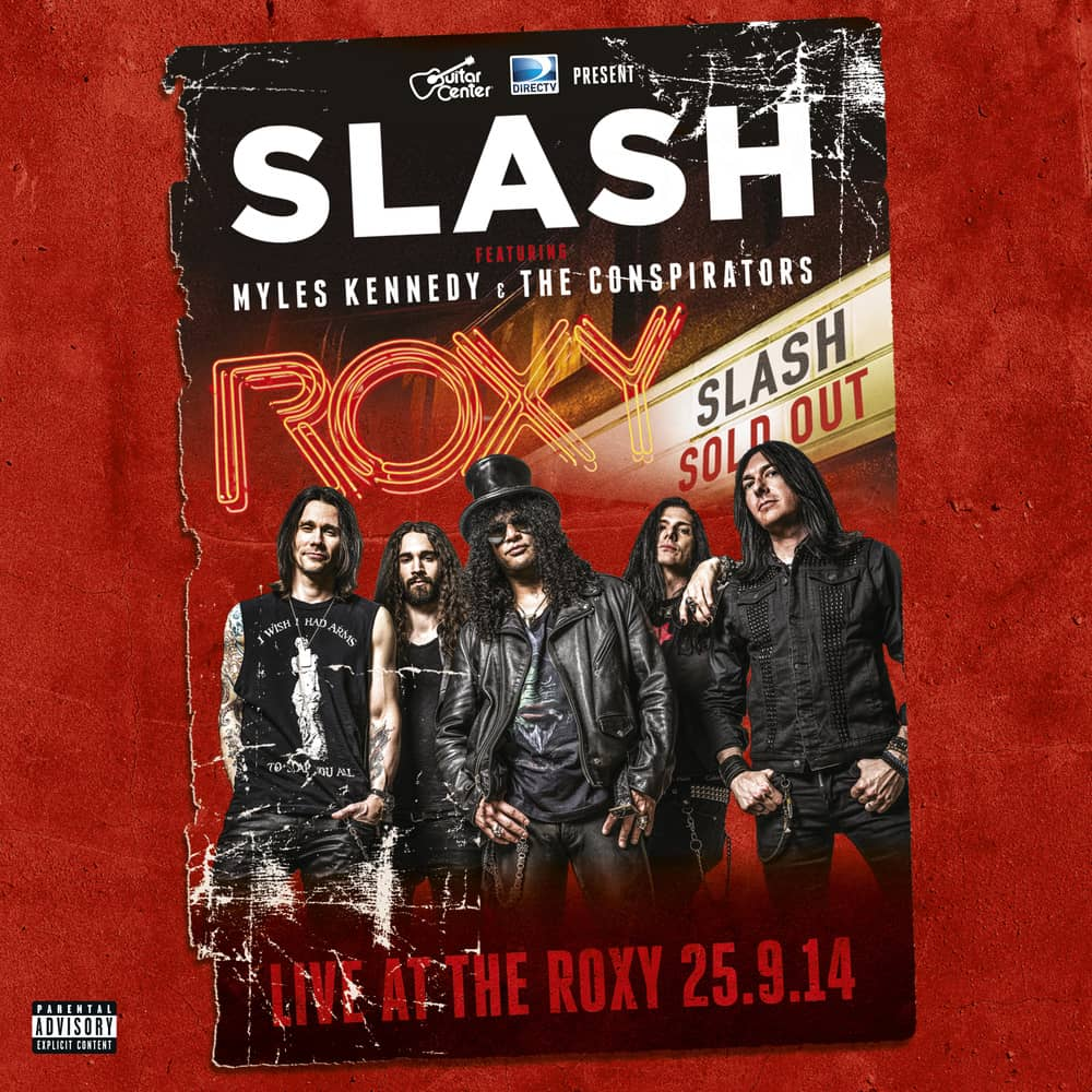 Buy Online Slash - Live at the Roxy Triple Vinyl + Double CD