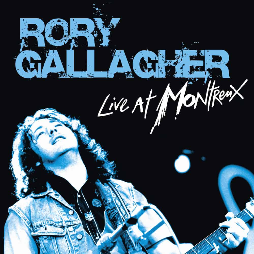 Buy Online Rory Gallagher - Live At Montreux Double Vinyl + CD