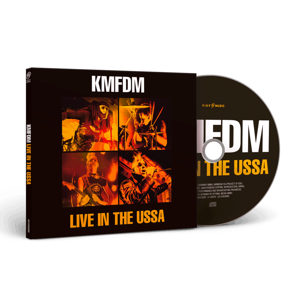 Buy Online KMFDM - Live In The USSA CD