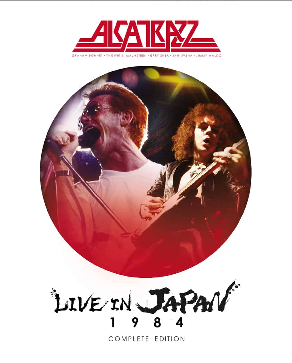 Buy Online Alcatrazz  - Live In Japan 1984 –Complete Edition Blu-Ray + Double CD