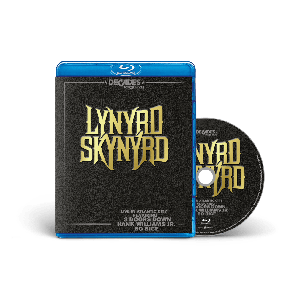 Buy Online Lynyrd Skynyrd - Live In Atlantic City Blu-Ray