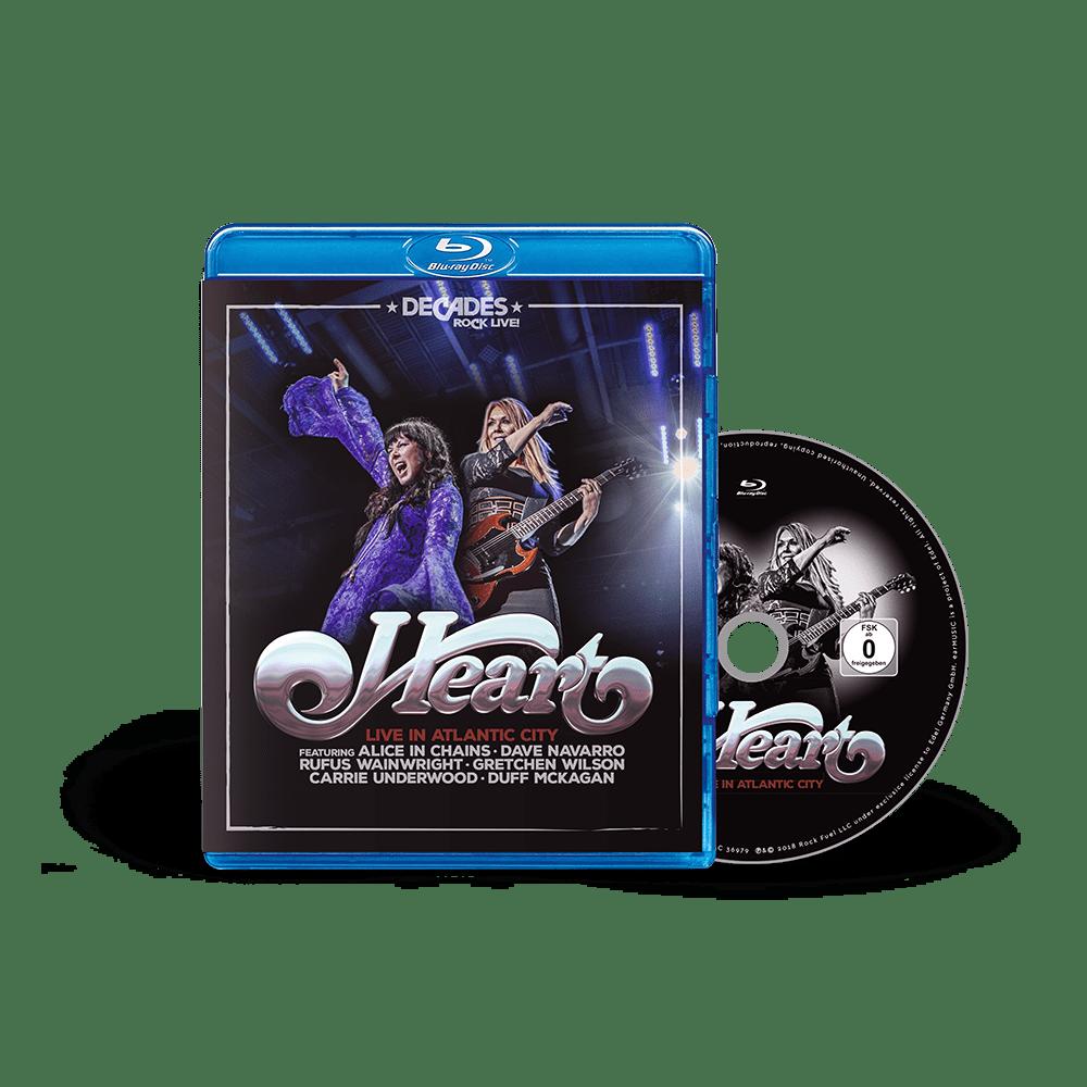 Buy Online Heart - Live in Atlantic City Blu-Ray