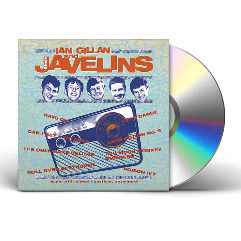 Buy Online Ian Gillan - RAVING WITH IAN GILLAN & THE JAVELINS (CD Digipak)