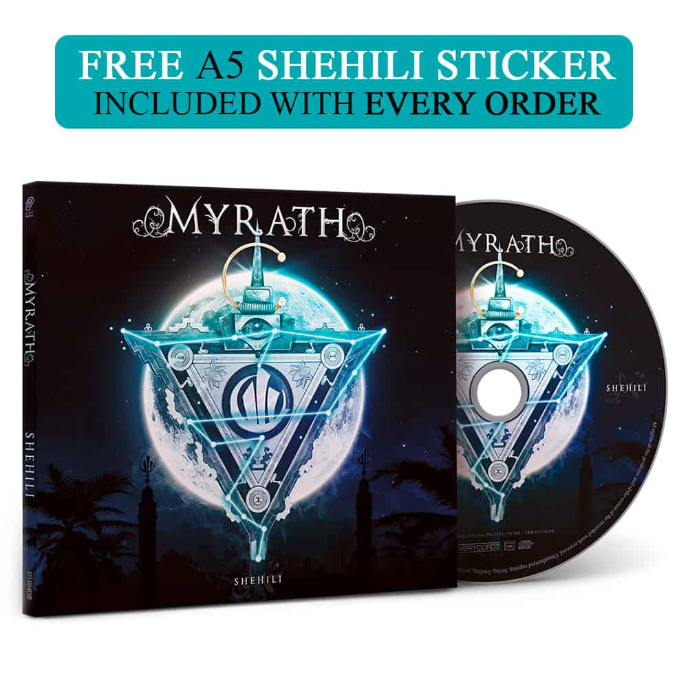 Buy Online Myrath - Shehili  (Includes A5 Art Sticker)