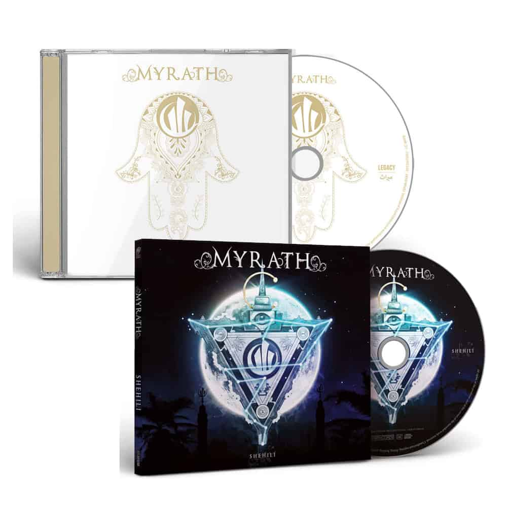 Buy Online earMUSIC - Myrath - Shehili CD + Legacy CD