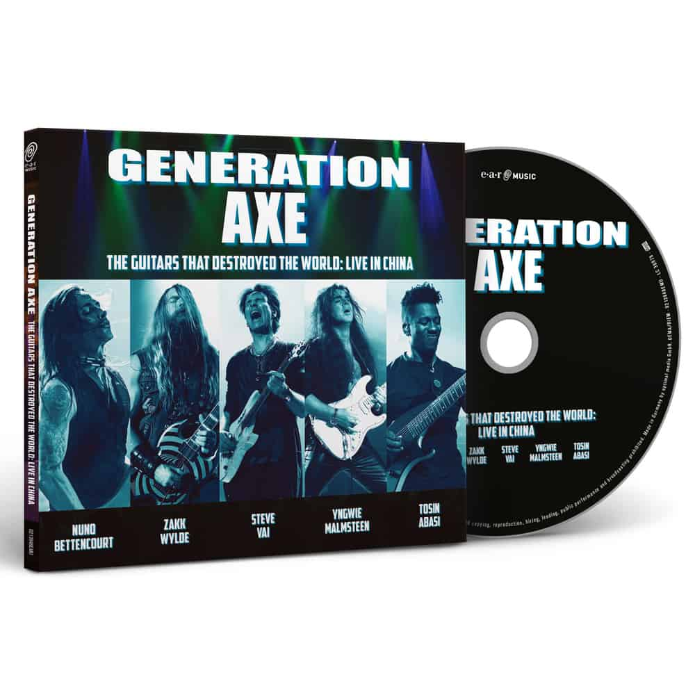 Buy Online GENERATION AXE - THE GUITARS THAT DESTROYED THE WORLD (LIVE IN CHINA) CD Digipak