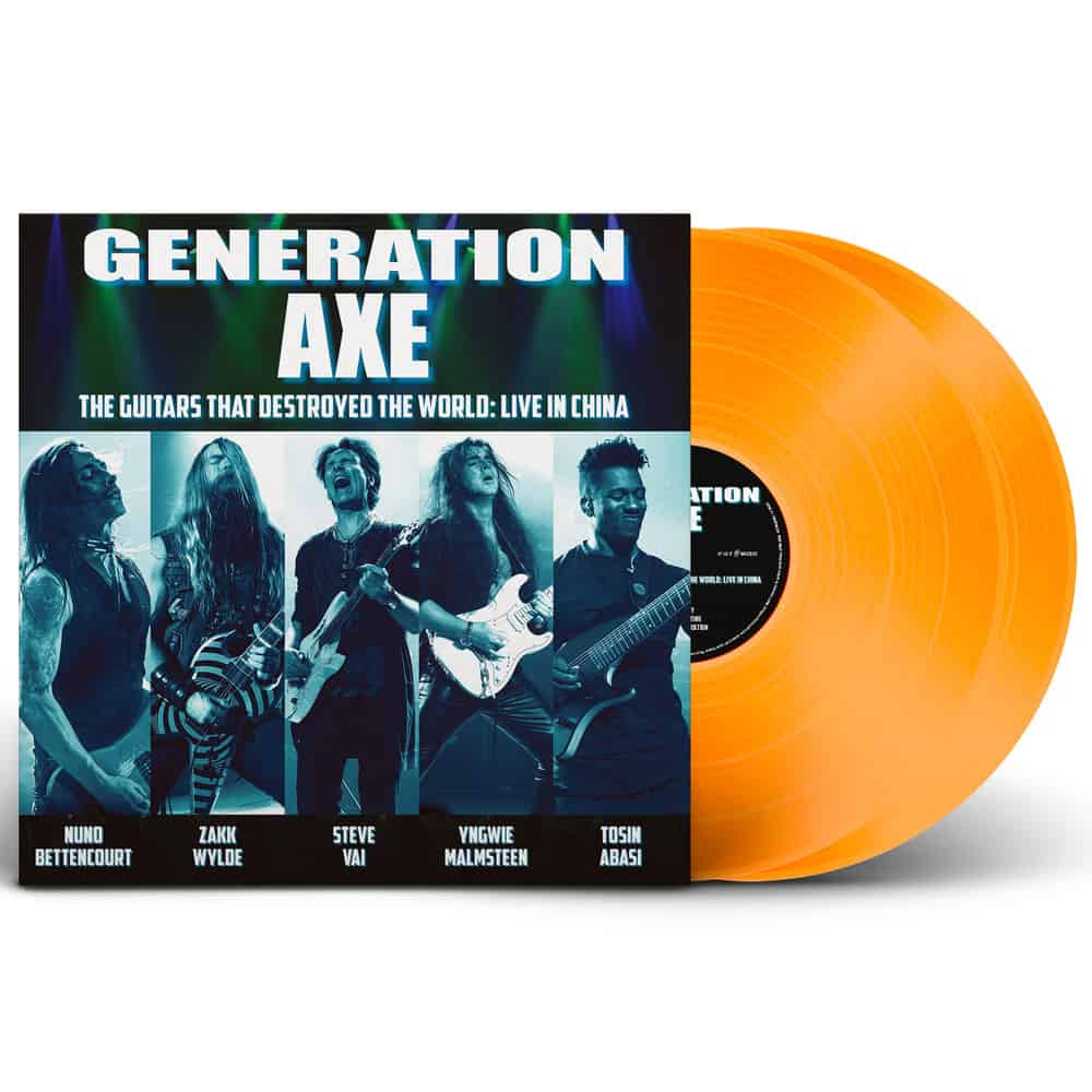 Resultado de imagem para Generation Axe – The Guitars That Destroyed The World: Live In China