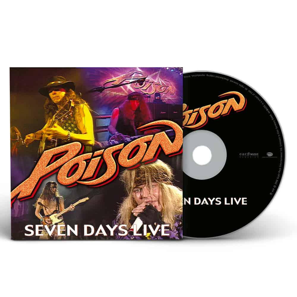 Buy Online Poison - Seven Days - Live