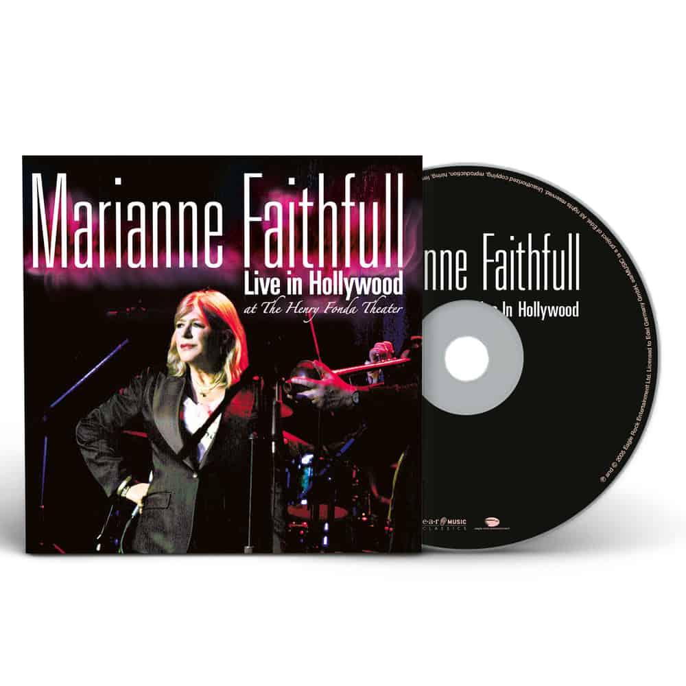 Buy Online Marianne Faithfull - Live In Hollywood