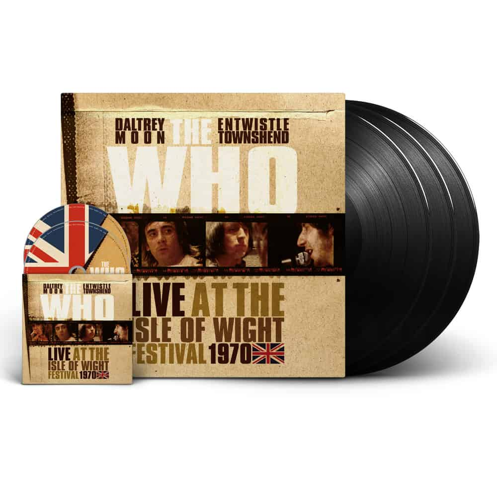 Buy Online The Who - Live At The Isle Of Wight Festival 1970