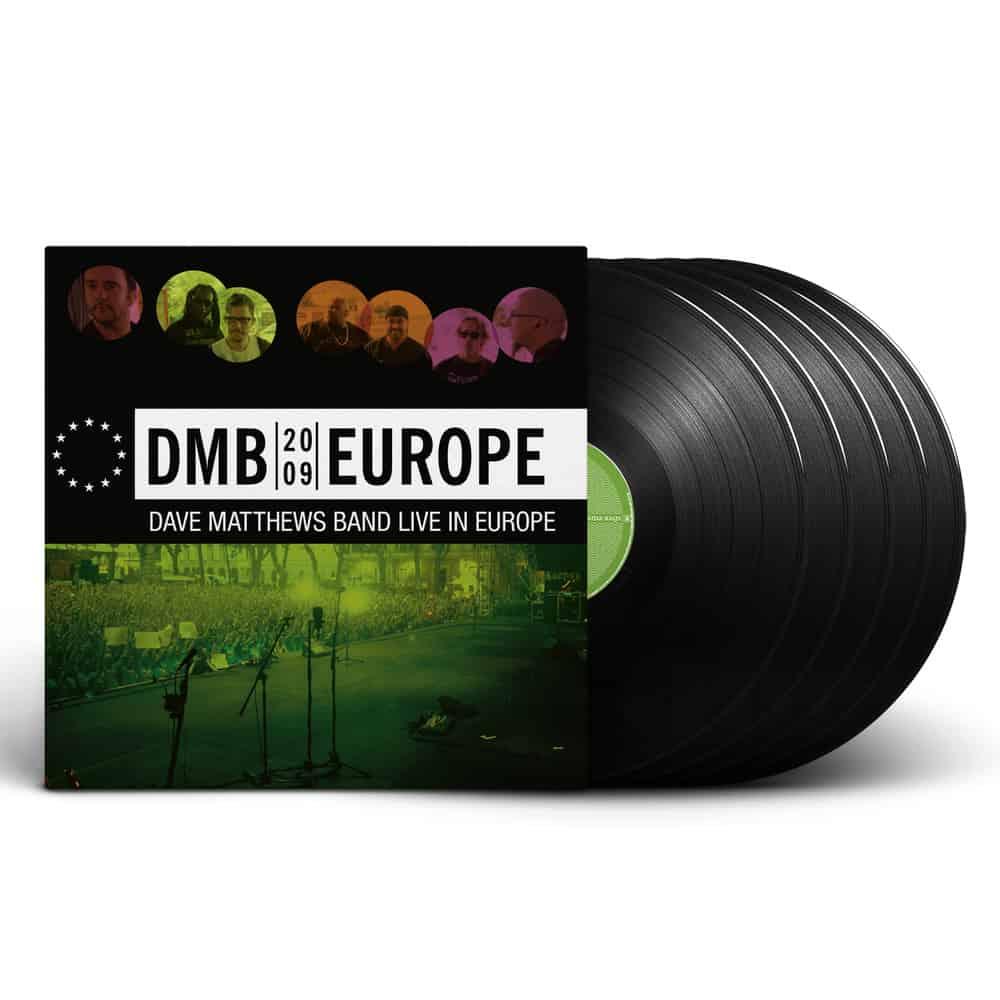 Buy Online Dave Matthews Band - Europe (2009) 5 Vinyl + 3 CD