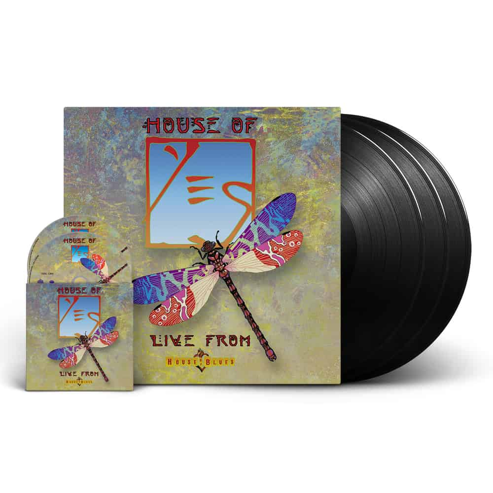 Buy Online YES - House Of Yes: Live From The House Of Blues Triple