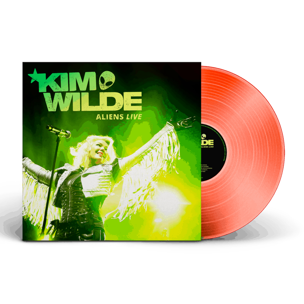 Buy Online Kim Wilde - Aliens Live (Ltd. Edition Neon Orange 2LP)